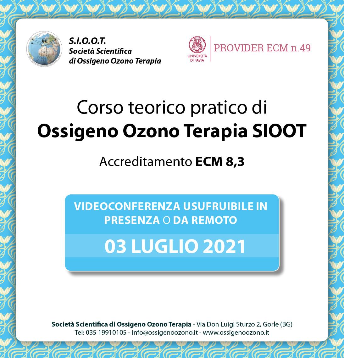 Course Image Corso teorico pratico di OSSIGENO OZONO TERAPIA