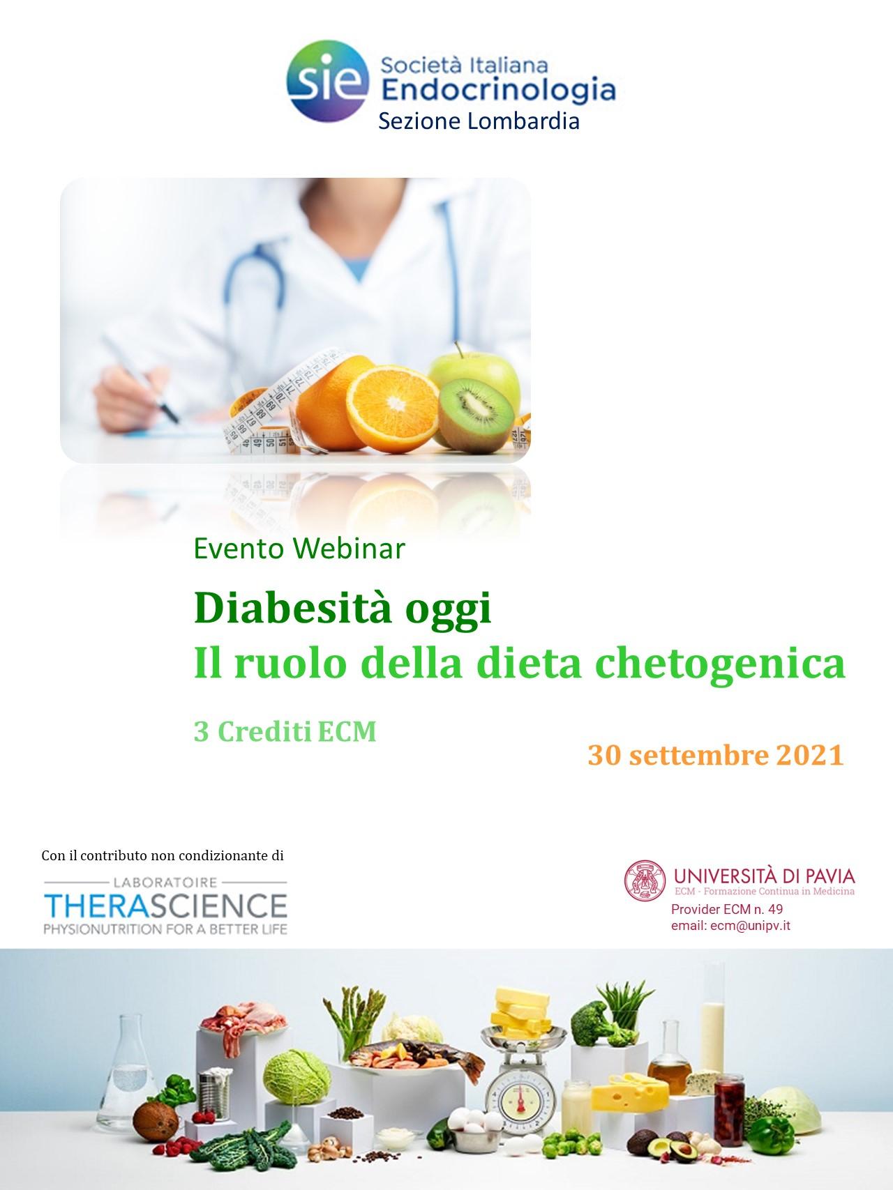 Course Image Diabesità oggi. Il ruolo della dieta chetogenica