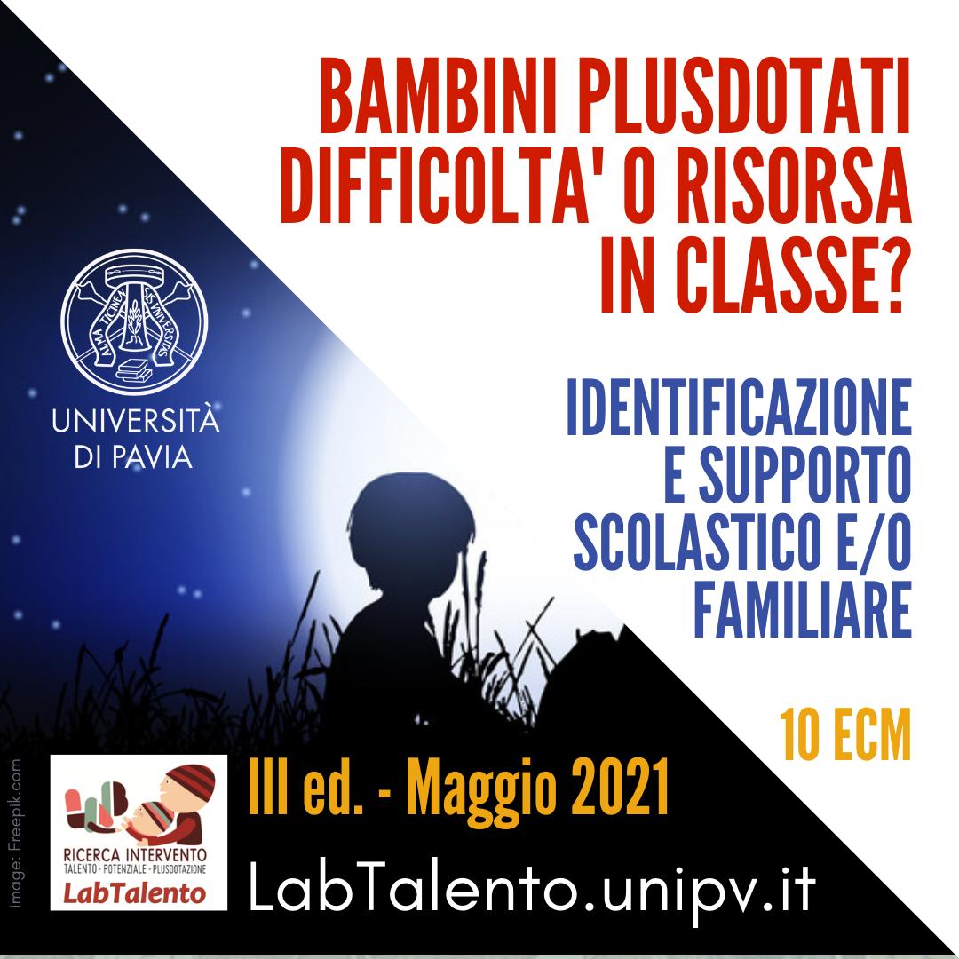Course Image Bambini Plusdotati: difficoltà o risorsa in classe? Identificazione e supporto scolastico e/o familiare